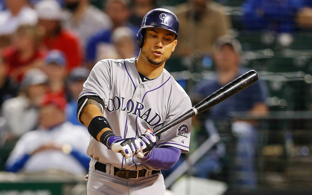 Carlos Gonzalez Rockies Batting