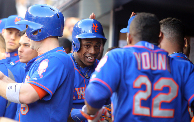 Curtis Granderson and the rest of the Mets ate a TON of cheesesteaks earlier this season.