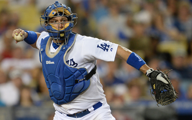 The Dodgers have lost catcher A.J. Ellis to an ankle injury.