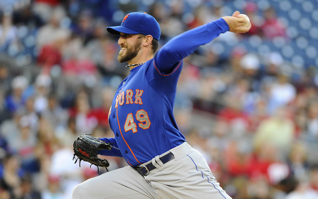 Shoulder problems have once again sent Niese to the disabled list.