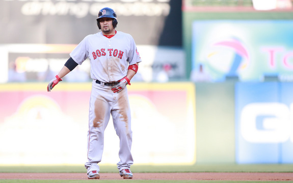 The Red Sox will be without Shane Victorino even longer with a back problem.