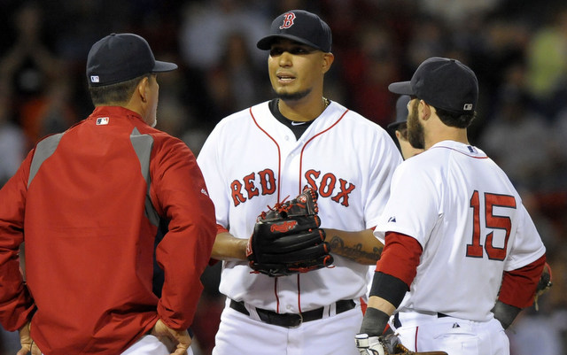 The Red Sox will be without Felix Doubront for at least two weeks.