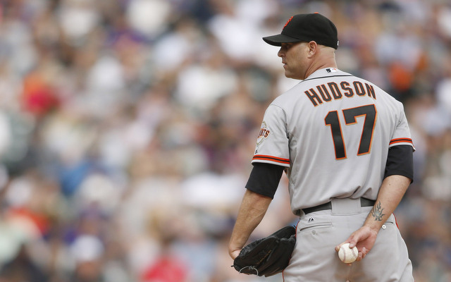 Tim Hudson is not happy about how his time with the Braves ended.