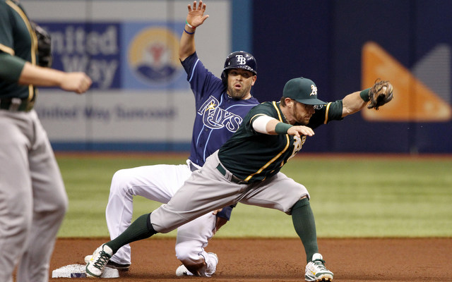 The Rays never went 'all-in' to improve their chances. The 2014 A's shouldn't make the same mistake.