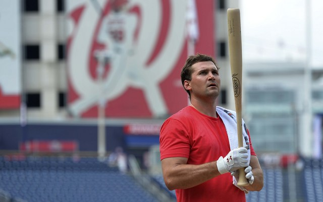 Ryan Zimmerman is expected to return to the lineup at a new position on Tuesday.