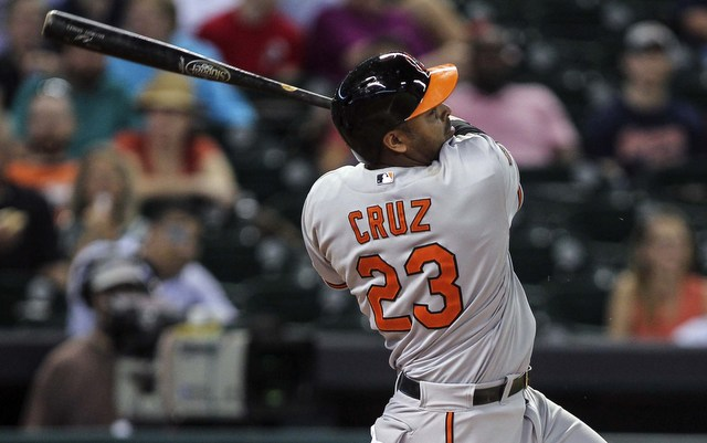 Nelson Cruz has takent the AL All-Star Game voting lead at DH.