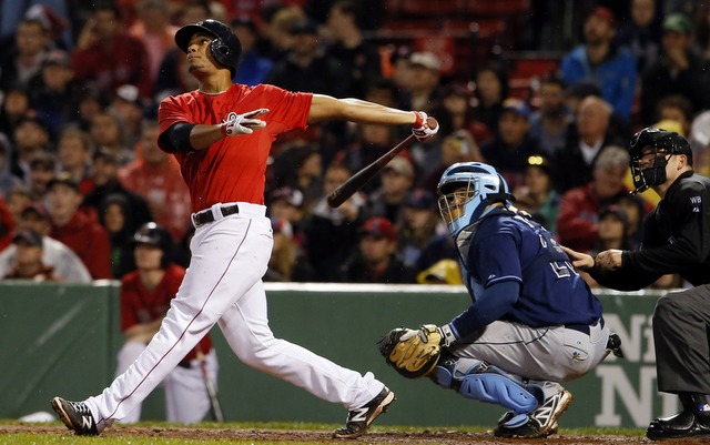 At age 21, Xander Bogaerts is already an impact player.