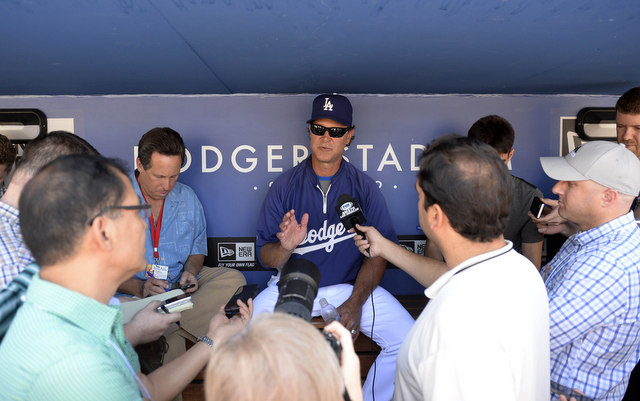 Manager Don Mattingly is not happy with his team's play right now.