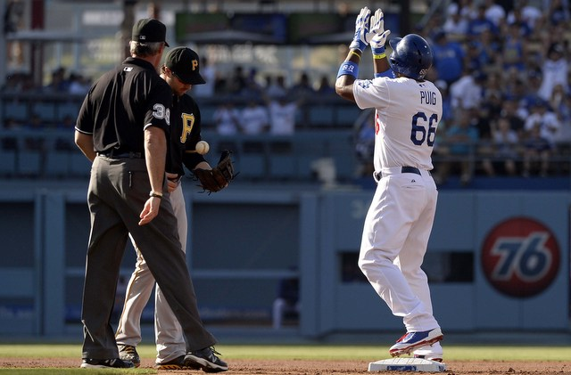 Yasiel Puig is now in position to start the All-Star Game.