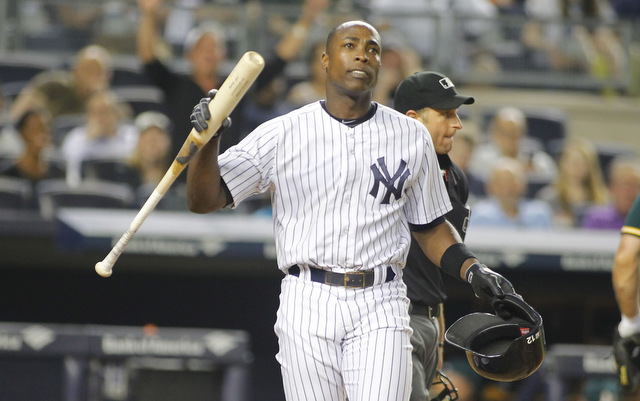 The Yankees have dropped Alfonso Soriano from the roster.
