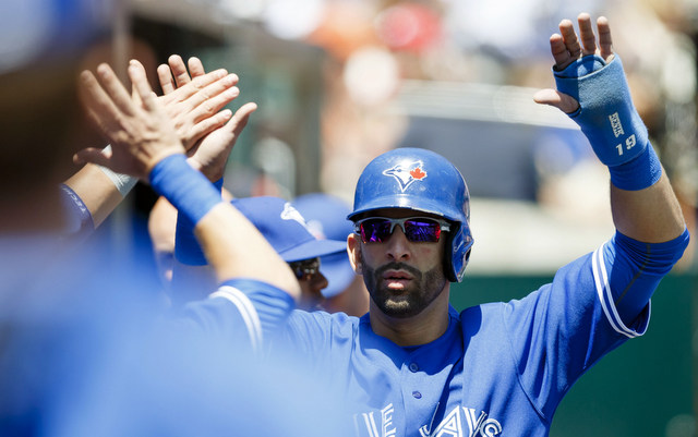 The Blue Jays will be without Jose Bautista for a few games.