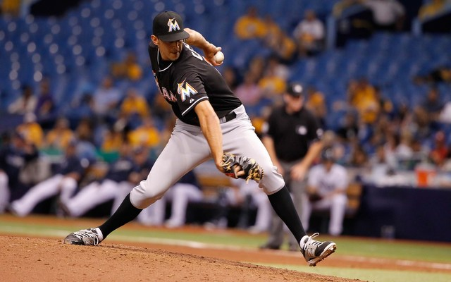 Marlins closer Steve Cishek could find himself on a new team after the trade deadline.