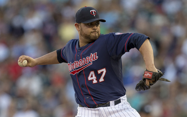 Ricky Nolasco has been pitching with elbow discomfort all season.