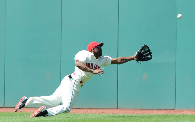 The Indians will be without Michael Bourn for at least another two weeks.