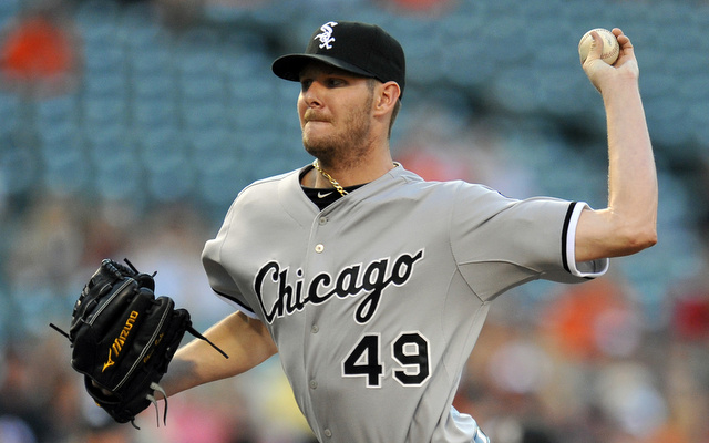 Chris Sale is one of 10 players still eligible to be voted into the All-Star Game.