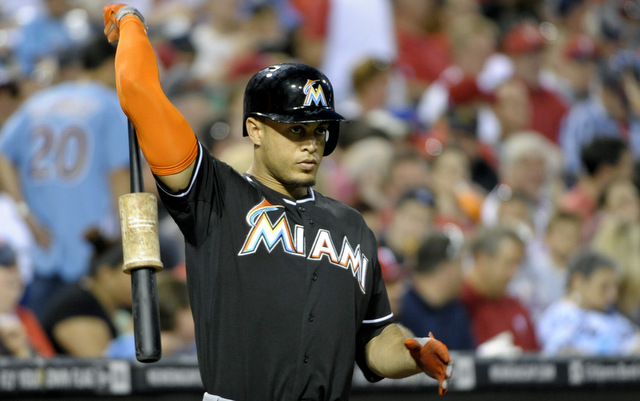 Giancarlo Stanton hopes to take his swings in the Home Run Derby next month.