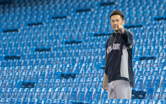 Masahiro Tanaka could begin playing catch on Monday.