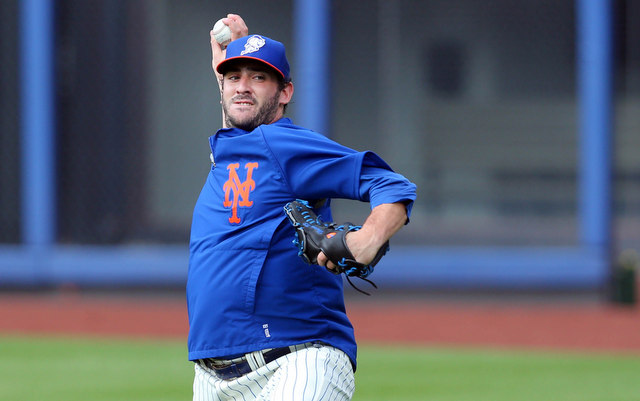 Matt Harvey will not face batters until next spring.