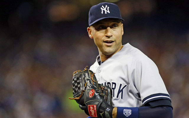 Happy 40th birthday to Derek Jeter.