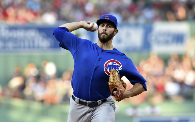 Jake Arrieta was nearly unhittable on Monday night.