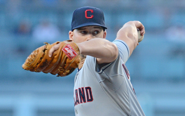 The Indians have made Justin Masterson available.