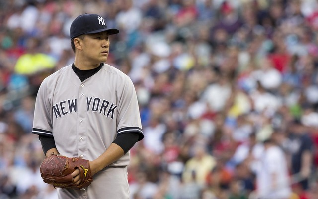 Masahiro Tanaka apologized for hurting his elbow.
