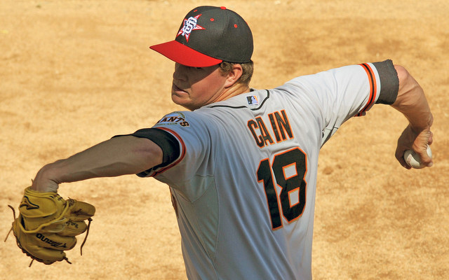 Matt Cain's season is over.
