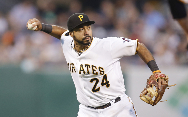 Pedro Alvarez's throwing issues have the Pirates considering a move to first.