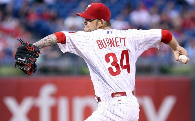 The Orioles have their eyes on right-hander A.J. Burnett.