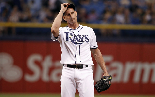 Grant Balfour's return to the Rays did not go well.