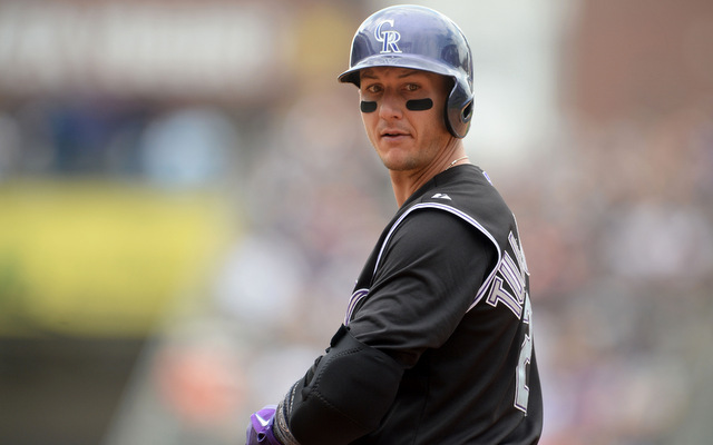 A hip injury will hurt Troy Tulowitzki's MVP candidacy.