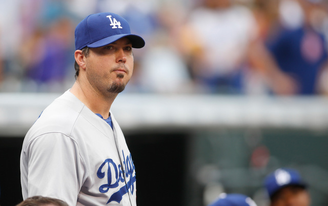 Hip and groin problems have landed Josh Beckett on the DL.