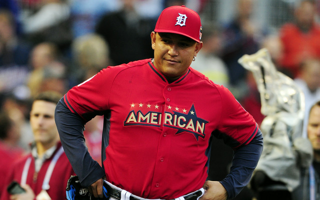 Miguel Cabrera is still not 100 percent following offseason surgery.