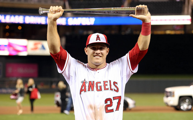 Mike Trout was the MVP of the 2014 All-Star Game.