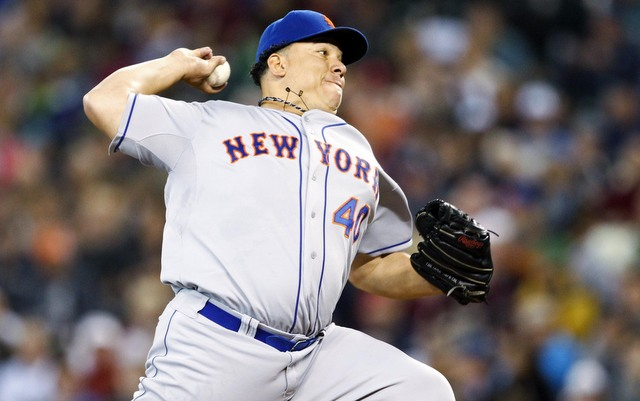 Bartolo Colon was nearly perfect on Wednesday afternoon.