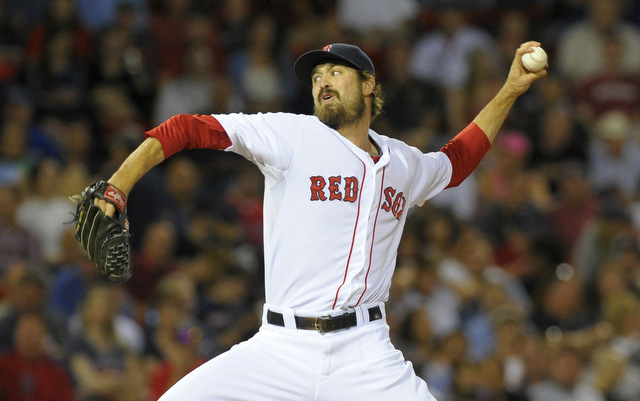 Andrew Miller is the newest member of the Orioles' bullpen.