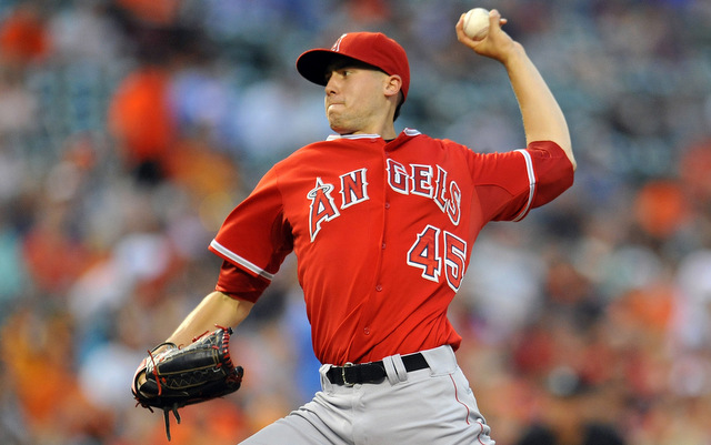 Angels place lefty Tyler Skaggs on 15-day DL with flexor