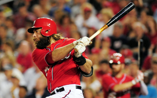 Jayson Werth was caught speeding back in July.