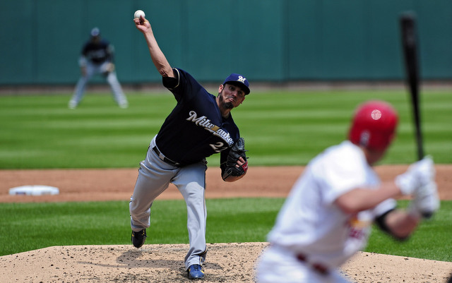 Matt Garza figures to be out a while with an oblique strain.