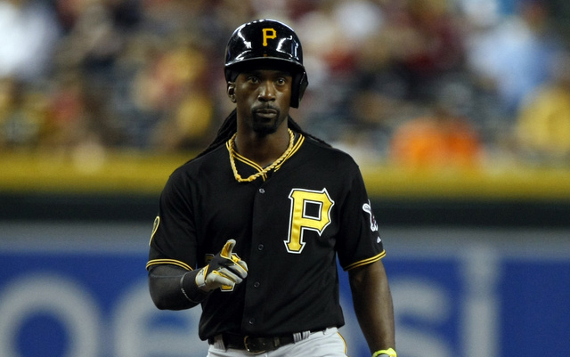 The Pirates will reportedly be without Andrew McCutchen for several weeks.