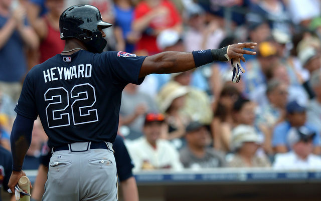 Jason Heyward and the Braves are cooked. Right?