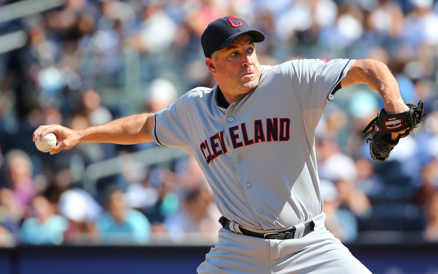 Scott Atchison will be back with the Indians next season.