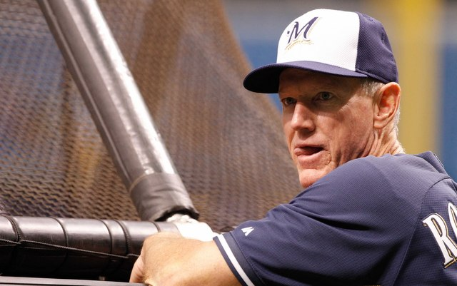 Ron Roenicke's Brewers have been in first place almost all season.