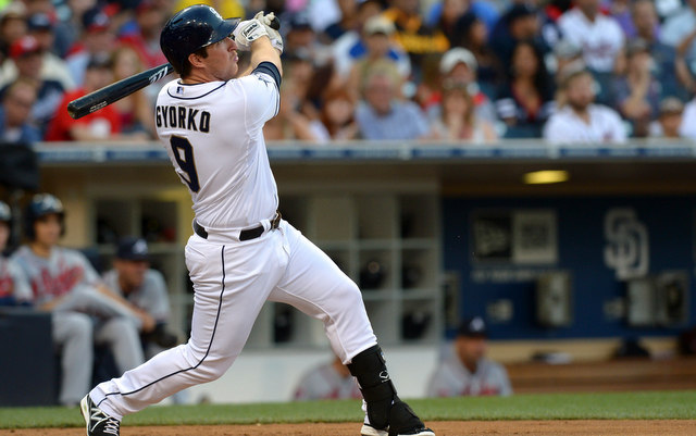 Jedd Gyorko has hit more homers than any other second basemen in Padres history. No, really.