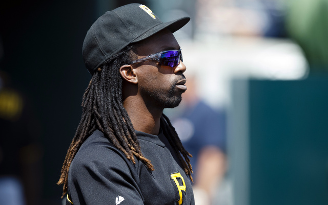 Andrew McCutchen will return to the Pirates' lineup on Tuesday.