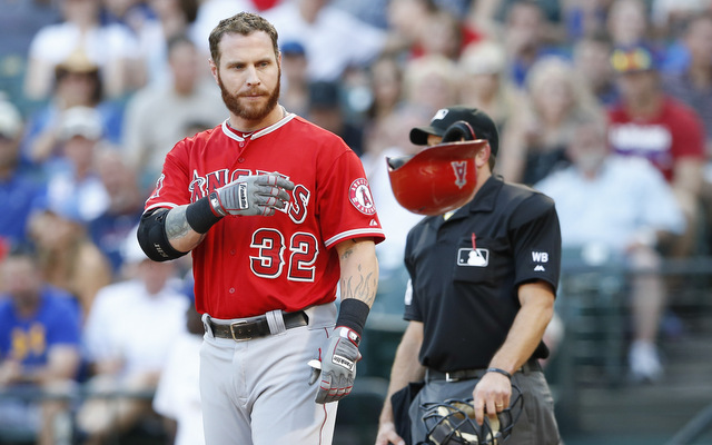 Josh Hamilton's second half struggles have Mike Scioscia feeling some frustration.