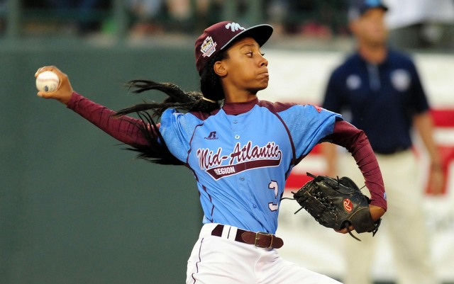 Could Little Leaguers like Mo'ne Davis be compensated in the future? It's under consideration.