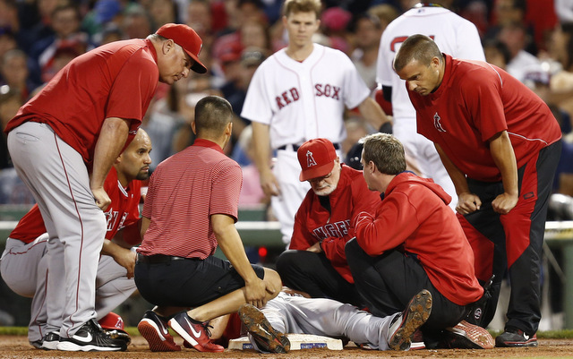 Mike Scioscia confirmed Garrett Richards has a significant injury.