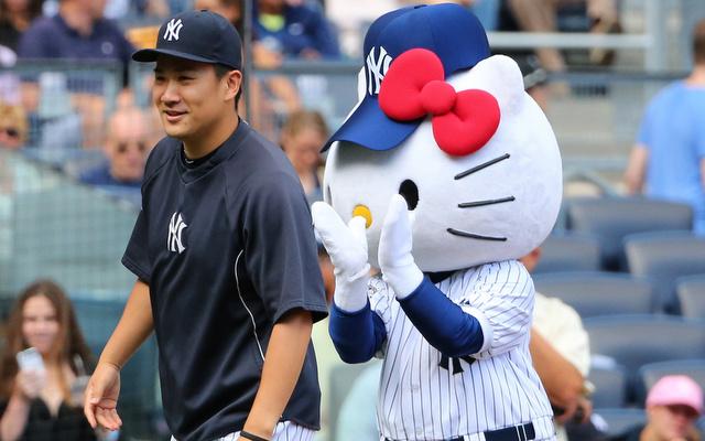 Masahiro Tanaka has started throwing again following a minor setback.