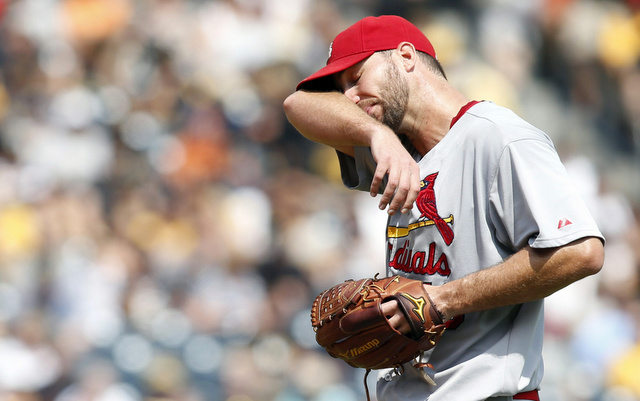 Adam Wainwright is battling a dead arm.